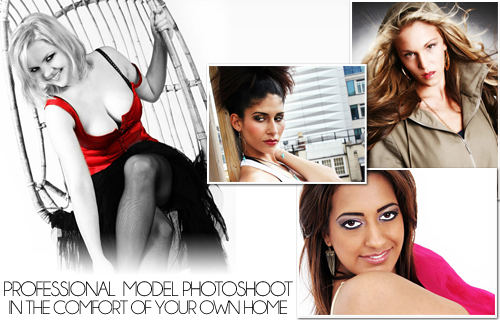 Enjoy a one hour professional photo-shoot in the comfort of your own home for only �45