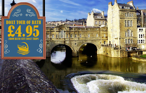 Sail away this summer with a riverboat tour of Bath for just �4.95