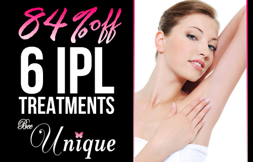 Looking for smooth hair free skin? Six sessions of IPL hair removal for �99