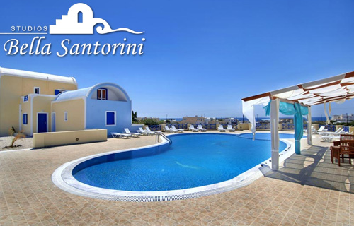 Enjoy 7 nights for two at the most beautiful beach resort in Santorini, Greece for an amazing �290