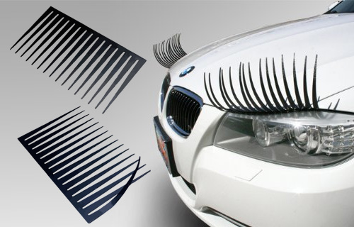 Beautify your car with 50% off a set of headlight eyelashes