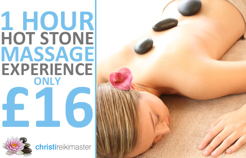 Lie back and relax with 73% off a hot-stone massage with ChristiReikiMaster of Bristol