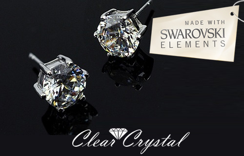 Love your lobes � 86% off a pair of stunning Swarvoski element 18K White Gold plated earrings