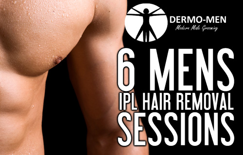 A hair-raising 90% saving off six men�s IPL hair removal sessions