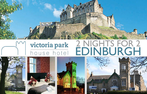 Looking to visit the capital of Scotland? Come and enjoy an exquisite stay at the Victoria Park Hotel for just �115.