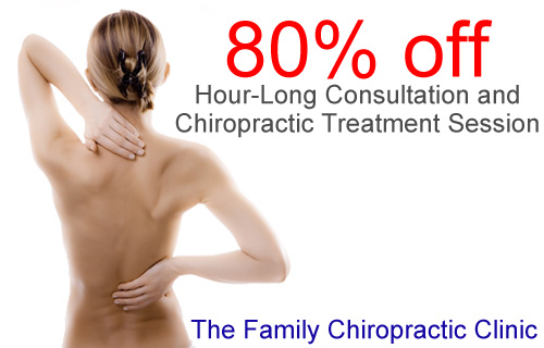 Kiss aches and pains goodbye with 80% off a Chiropractic session
