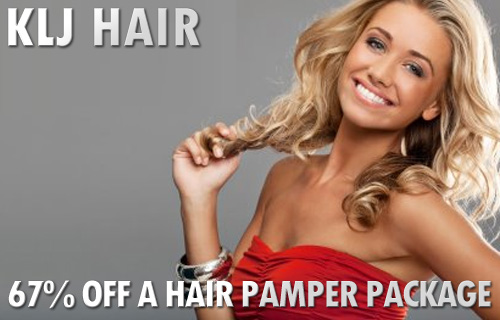 Get a sassy new summer look with a hair pampering package from KLJ Hair for just £28