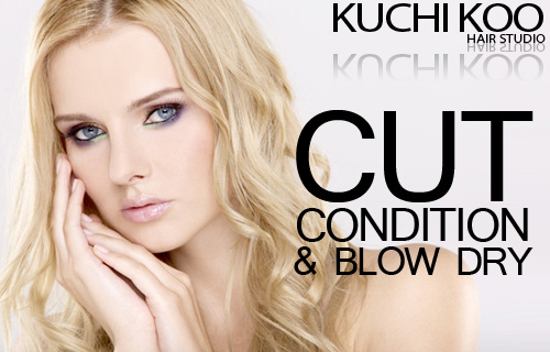 Make a style statement with 74% off a cut, condition and blow-dry from new Bristol hair studio Kuchi Koo