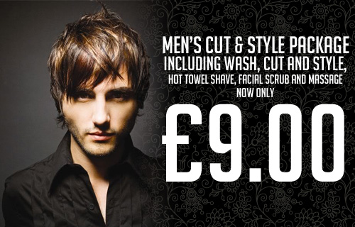Let�s hear it for the boys � a gents� snip and style session at Layachi�s for just �9