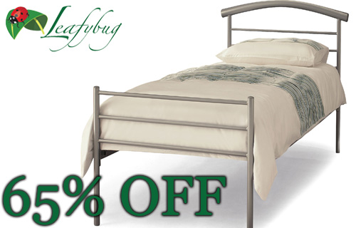Sleep tight with a 65% saving on a Serene single bedframe from Leafybug