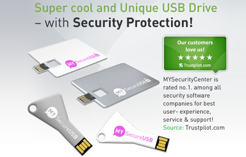 A unique USB drive with military encryption for just �14.99