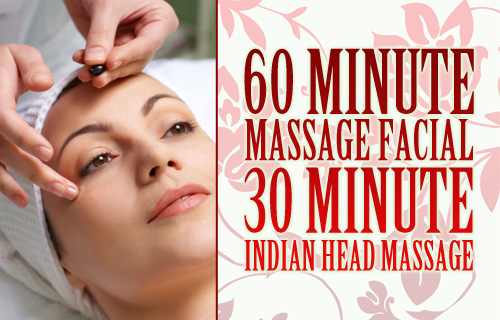 Lie back and relax with 70% off a facial and Indian head massage experience at Sampaguita Beauty