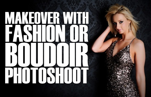 Strike a pose! 92% off a makeover and fashion or boudoir photoshoot