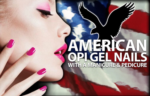 Gorgeous grooming at your fingertips � a manicure, pedicure and full set of American OPI gel nails from USA Star nails for �22