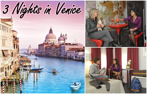 Experience the romance and beauty of Venice for just �120
