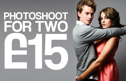 Glam it up for the camera with Style makeover and photoshoot for two at Angel Studios for just £15