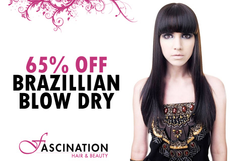 Straighten yourself out with 65% off a Brazilian blow-dry