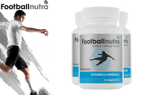 50% off a Football Nutra complete daily health package