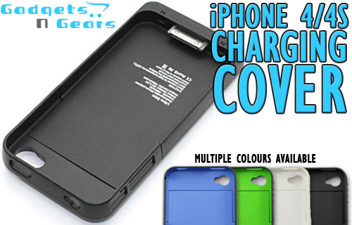 iPhone 4 battery boosting cover charger for just �10