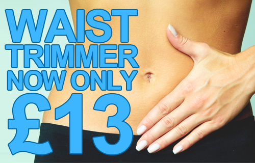 Time to get trim? Enhance your workout with a workout enhancing waist trimmer for just £13