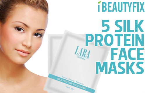 On your marks, get set, GLOW! Five professional silk face-masks for £18 from iBeautyFix