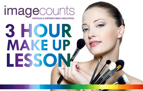 Get gorgeous with a professional make up lesson from Image Counts for £17