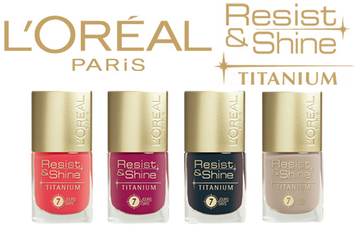 67% off a set of four high-shine L�Oreal nail polishes from Just She cosmetics