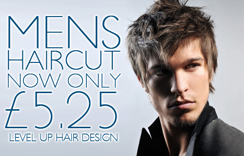 Get a gents haircut at Edinburgh salon Level Up � a snip at just �5.25
