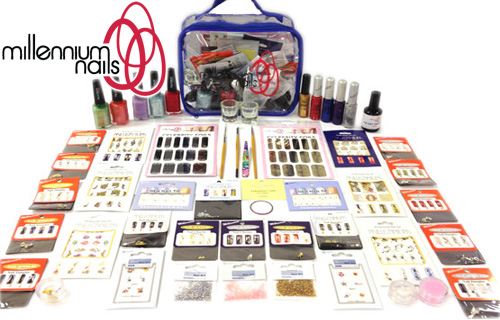 Nail this 79% saving on a full nail art kit