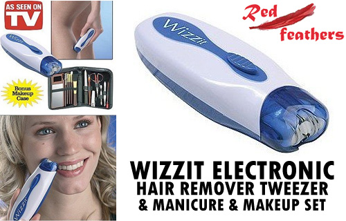 Don�t just pluck it, Wizzit! 50% off the revolutionary new tweezer system