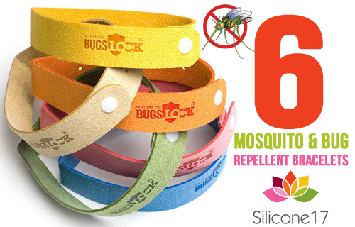 Keep the bugs at bay with six mosqito-repelling bracelets for £4