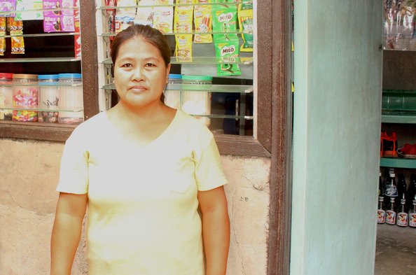 Opportunity International Client Zenaida Baluyot