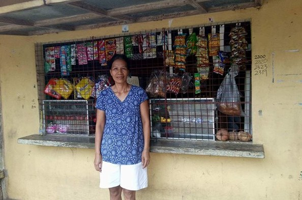 Opportunity International Client Edna Nueva