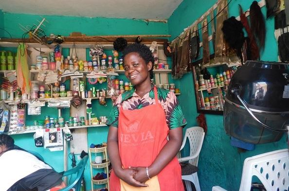 Opportunity International Client Beatrice  Nalwanga