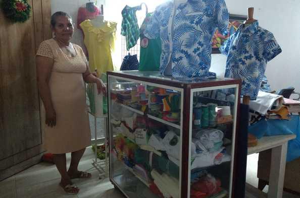 Opportunity International Client Nuris del Carmen Pretelt