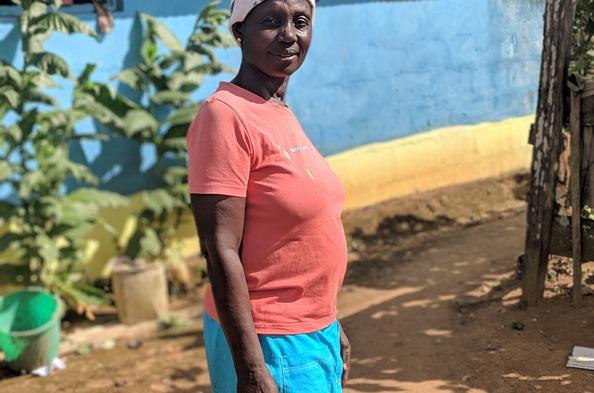 Opportunity International Client Mercy Adu Gyamfi