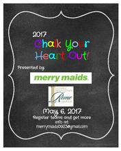 The 2nd Annual Chalk Your Heart Out!