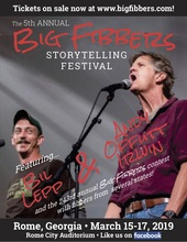 Andy & Bil's Saturday Night!  Big Fibbers Storytelling Festival