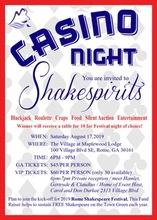 Shakespeare Fundraiser