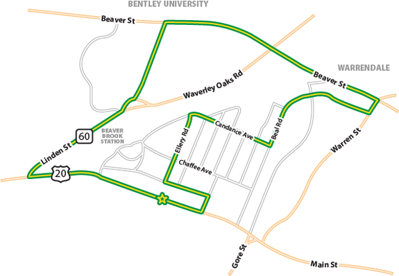 race route map