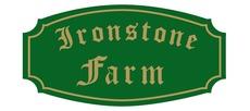 Ironstone farm sign