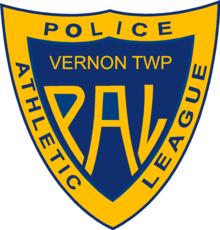 Vernon pal shield blue yellow