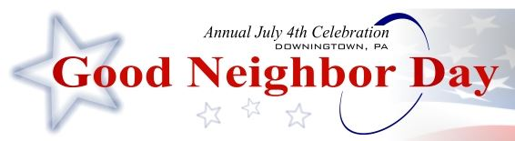 Racemenu 39th Annual Downingtown Good Neighbor Day