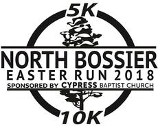 North bossier run logo 2018