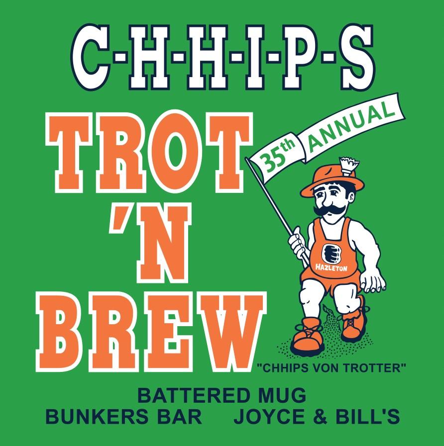 Chhips trot n brew shirt back