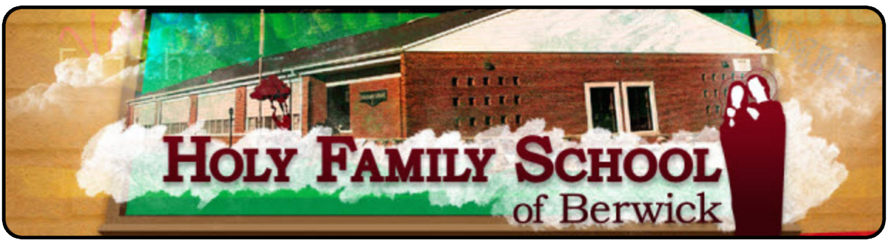 Holy family school web
