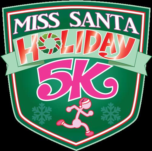 Miss santa badge logo 2016