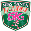 Miss santa badge logo 2016