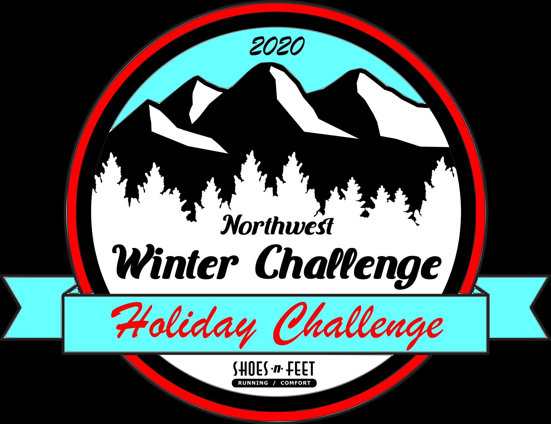 2020 holiday challenge logo