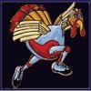 Aht5k turkey logo on navy
